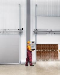 Подъемные/вертикальные холодильные двери