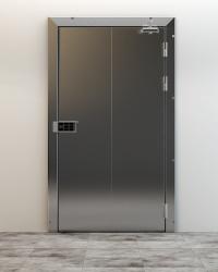 Противопожарные холодильные двери