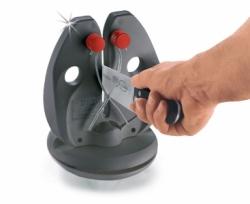 Мусат настольный для заточки ножей (с подставкой)