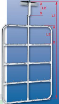 Транспортировочная подвеска для органов из нержавеющей стали