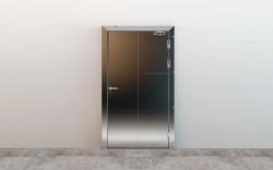 Распашные холодильные противопожарные двери