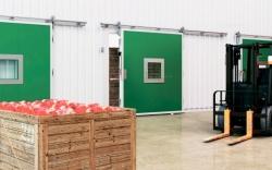 Двери откатные холодильные для помещений с регулируемой газовой средой ОД (ГС)