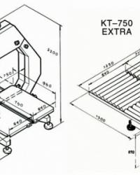 Пила ленточная КТ-750