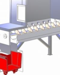 Bevorratungssilos für Scherbeneis AS mit automatischer Austragung