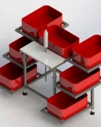 Столы для обвалки птицы